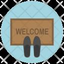 Door Mat Welcome Icon