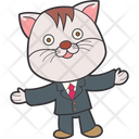 Welcoming Cat Icon