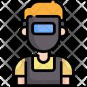 Welder Profession Worker Icon