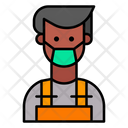 Welder Protective Gear Repair Icon