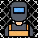 Welder Worker User Icon