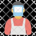 Welder Mechanic Factory Icon