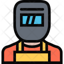 Welder Plumber Cleaning Icon