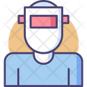 Welding Mask Welding Engineer Icon