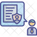 Coverage Employment Escort Icon