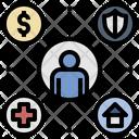Welfare Reform Compensation Icon