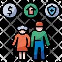 Welfare Retirement Icon