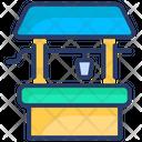 Bathroom Brick Bucket Icon