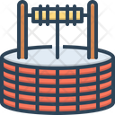 Well Borehole Waterhole Icon