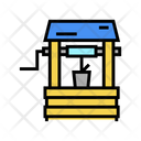 Well Water Source Filter Icon