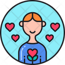 Well Being Loving Love Icon