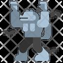 Werewolf Creature Monster Icon