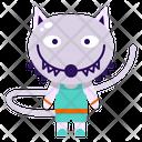 Werewolf Halloween Costume Icon