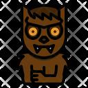 Werewolf Spooky Terror Icon