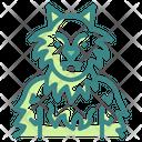 Werewolf Halloween Character Icon