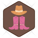 Western Space For Text Costume Icon