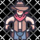 Western Movie Icon