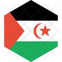 Western sahara Icon