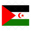 Western Sahara Flag Flags Icon