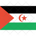 Western sahara sahrawi arab Icon