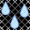 Wet Rain Drop Icon