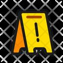 Wet Floor Safety Icon
