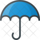 Wet Protection Umbrella Icon