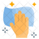 Wet Cleaning Cleaning Hand Icon
