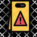 Wet Floor Plumber Icon