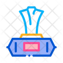 Wet Napkin Package Icon