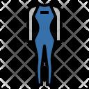 Wetsuit Surfing Sport Icon