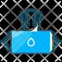 Wet Tissue Icon