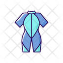 Wetsuit Sport Surfing Icon