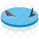 Whale Sea Creature Sea Animal Icon