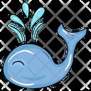 Whale Fish Animal Icon