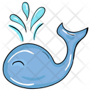 Whale Fish Animal Icon