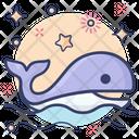 Whale Mammal Sea Creature Icon