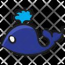 Whale Fish Specie Icon