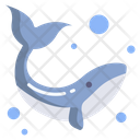 Whale Sea Fish Fish Icon