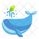 Whale Fish Ecology Icon