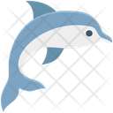 Whale Wildlife Ocean Icon