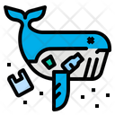 Whale Dead Waste Icon