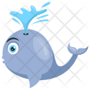 Whale Fish Icon