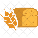Wheat Grain Bread Icon