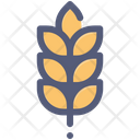 Wheat Grain Crop Icon