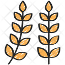 Wheat Dinner Holiday Icon