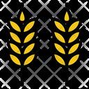 Wheat Farm Agriculture Icon