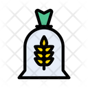 Wheat Grain Flour Icon