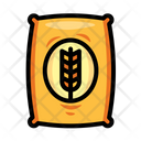 Wheat Seeds Bag Icon