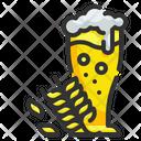 Wheat Beer Pub Icon